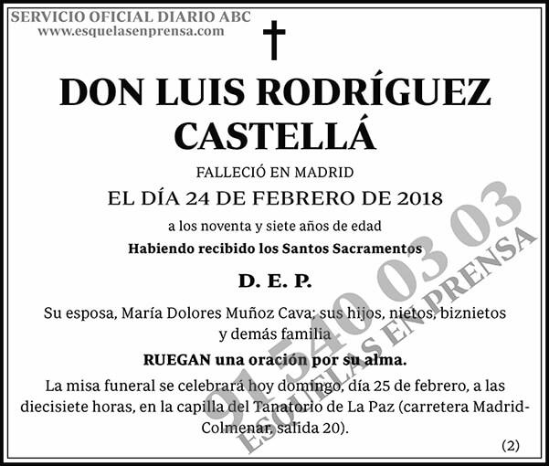 Luis Rodríguez Castellá
